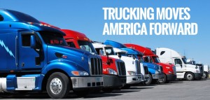 We use independent local truckers